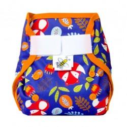 MajaB novorozenecké PUL kalhotky LIŠKY oranžová
