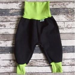 Yháček letní softshellové kalhoty ČERNÁ  . 08457fd94f