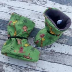 Yháček softshellové botičky FLEECE