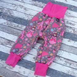 Yháček zimní softshellové kalhoty PRINCEZNY, vel. 80 a 86