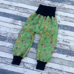 Yháček zimní softshellové kalhoty ŽIRAFY, vel. 110