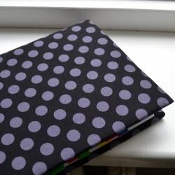 Kreat nastavitelný obal na knihu PUNTÍKY šedé