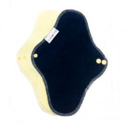 Breberky noční vložka s flísem TM.MODRÁ / žlutý velur