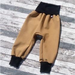 Yháček zimní softshellové kalhoty ŽÍHANÉ - HOŘČICOVÁ, vel. 86