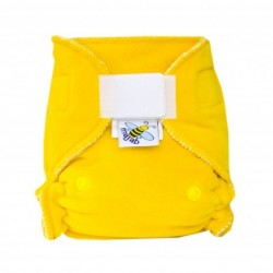 MajaB novorozenecká plenka VELUR žlutá sz
