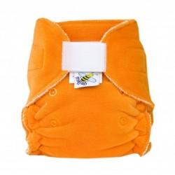 MajaB novorozenecká plenka VELUR oranžová sz