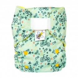 MajaB AIO plenka fleece KOLA žlutá (superAIR PUL)