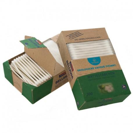 Bamboolik ekologické vatové tyčinky, 200 ks