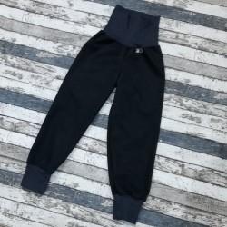 Yháček jarní softshellové kalhoty ČERNÁ / ANTRACIT, vel. 110