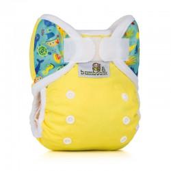 Bamboolik PUL kalhotky novorozenecké MOŘE