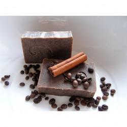 Š.IVA zjemňující mýdlo s kávou a skořicí