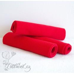 Separační pleny FLEECE červené (30x12,5 cm)