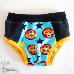Mamianna spodní kalhotky, vel. 5-6 let, OPIČKY A HVĚZDY
