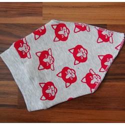 Yháček šátek KOČKY