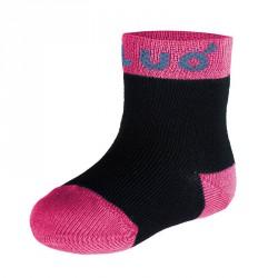 Unuo bambusové ponožky RŮŽOVÉ