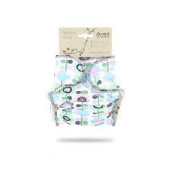 Petit Lulu novorozenecká plenka KVĚTINOVÁ LOUKA fialková