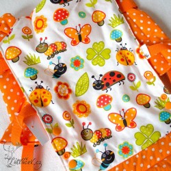 Pumilio nosítko pro panenky NA LOUCE oranžové