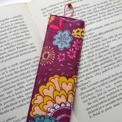 Kreat záložka do knihy KVĚTINOVÁ