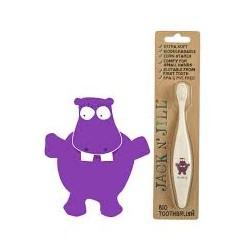 Jack n' Jill BIO dětský zubní kartáček HROŠÍK