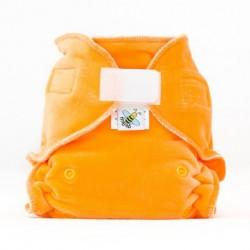 MajaB kalhotková plenka VELUR oranžová