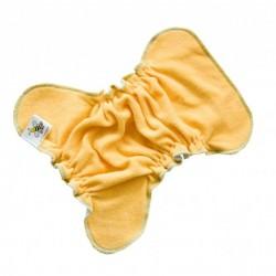 MajaB novorozenecká plenka na sponku MERUŇKOVÁ