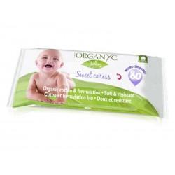 Organyc dětské vlhčené hygienické ubrousky BIO, 60 ks