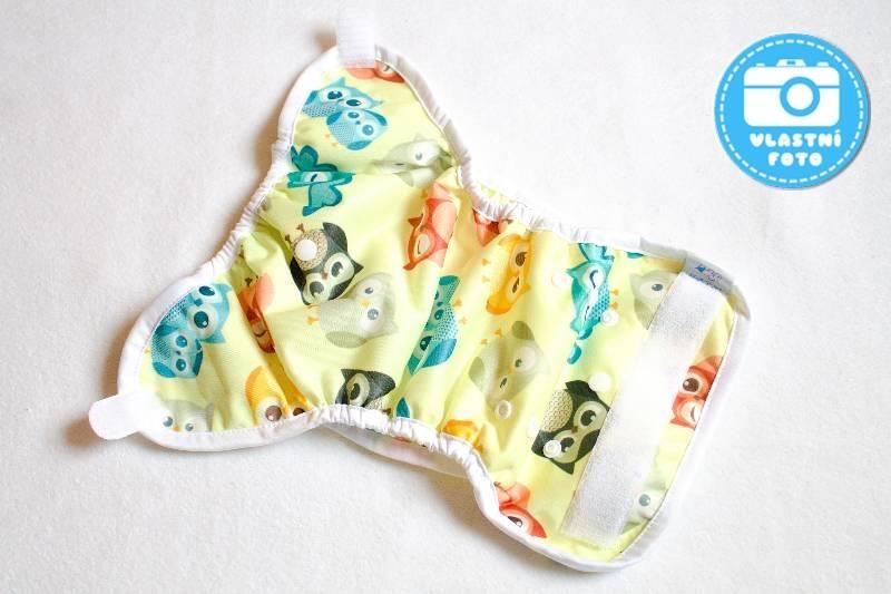 Novorozenecké svrchní PUL kalhotky Bambi Roxy - rozložené